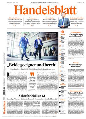 Handelsblatt (12.04.2021)