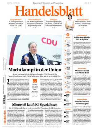 Handelsblatt (13.04.2021)