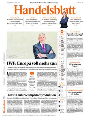 Handelsblatt (15.04.2021)