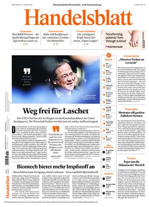 Handelsblatt (21.04.2021)