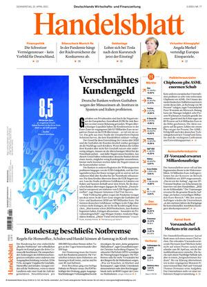 Handelsblatt (22.04.2021)