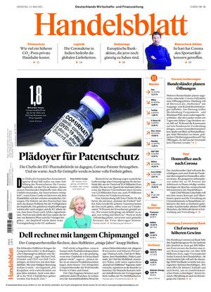 Handelsblatt (11.05.2021)