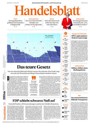 Handelsblatt (12.05.2021)