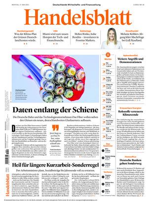 Handelsblatt (17.05.2021)