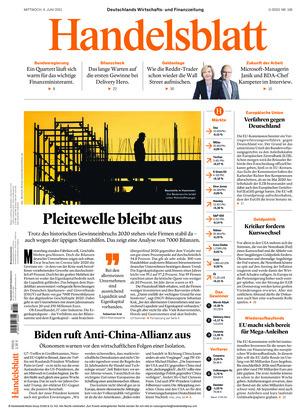 Handelsblatt (09.06.2021)