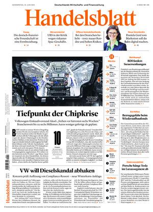 Handelsblatt (10.06.2021)
