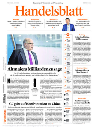 Handelsblatt (14.06.2021)