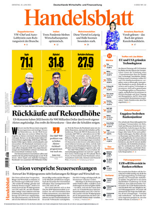 Handelsblatt (15.06.2021)