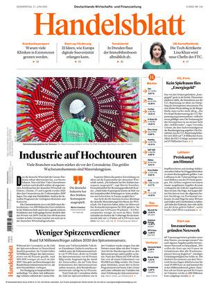 Handelsblatt (17.06.2021)