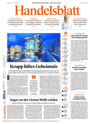 Handelsblatt (21.06.2021)