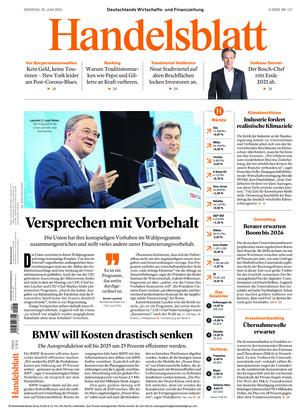 Handelsblatt (22.06.2021)