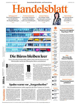 Handelsblatt (24.06.2021)
