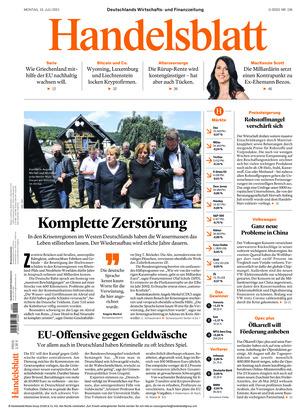 Handelsblatt (19.07.2021)