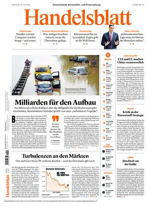 Handelsblatt (20.07.2021)