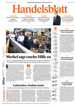Handelsblatt (21.07.2021)