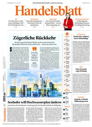 Handelsblatt (22.07.2021)