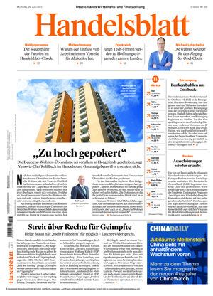 Handelsblatt (26.07.2021)