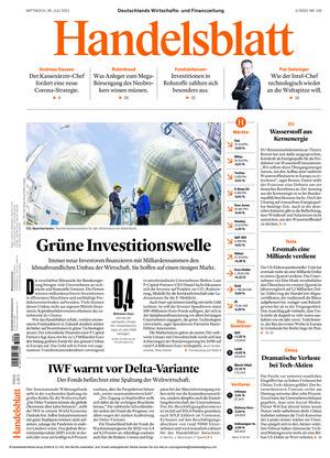 Handelsblatt (28.07.2021)
