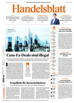 Handelsblatt (29.07.2021)