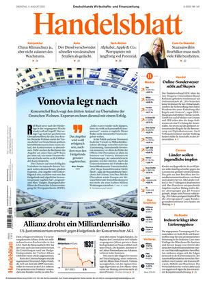 Handelsblatt (03.08.2021)