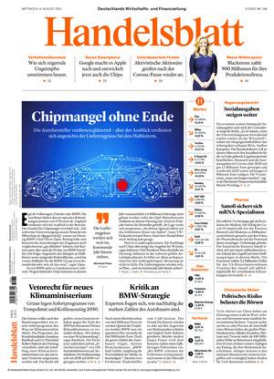 Handelsblatt (04.08.2021)