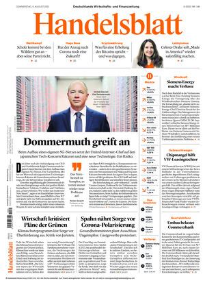 Handelsblatt (05.08.2021)