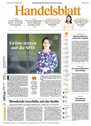 Handelsblatt (20.09.2021)