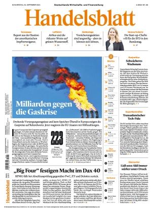 Handelsblatt (23.09.2021)