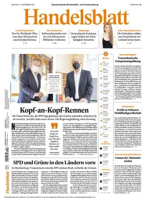 Handelsblatt (27.09.2021)