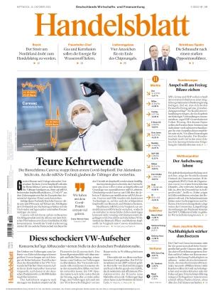 Handelsblatt (13.10.2021)