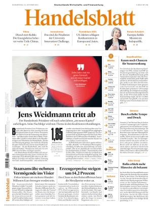 Handelsblatt (21.10.2021)