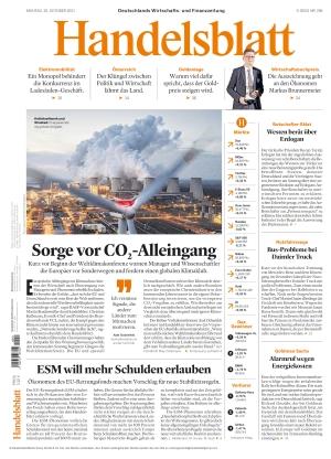 Handelsblatt (25.10.2021)