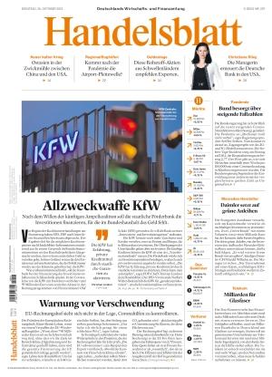 Handelsblatt (26.10.2021)