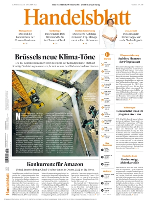 Handelsblatt (28.10.2021)