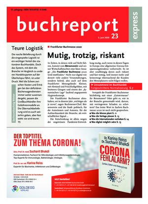 buchreport express (23/2020)