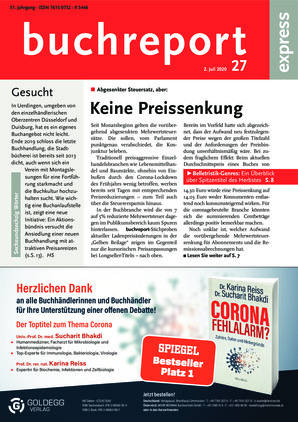 buchreport express (27/2020)