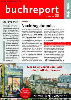 buchreport express (35/2020)