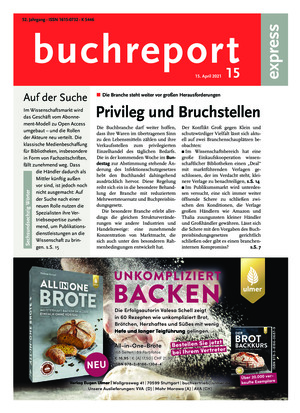 buchreport express (15/2021)