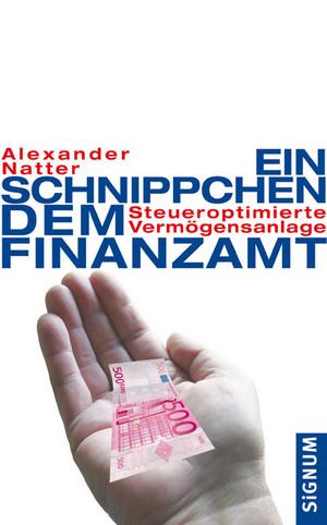 Ein Schnippchen dem Finanzamt