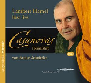 Lambert Hamel liest live Casanovas Heimfahrt