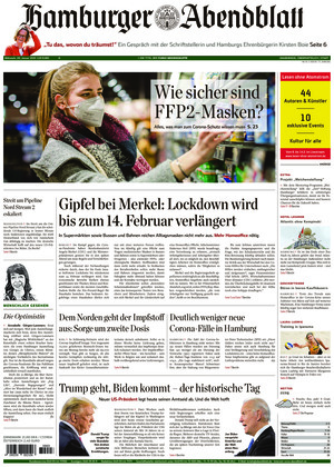Hamburger Abendblatt (20.01.2021)