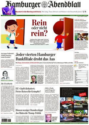 Hamburger Abendblatt (22.01.2021)