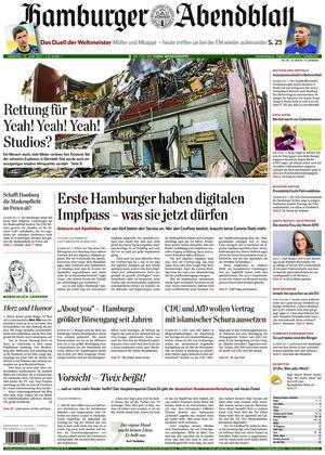 Hamburger Abendblatt (15.06.2021)