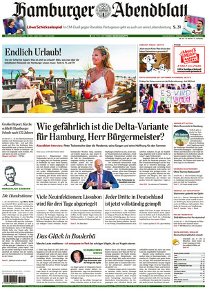 Hamburger Abendblatt (19.06.2021)