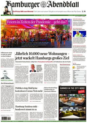Hamburger Abendblatt (30.07.2021)