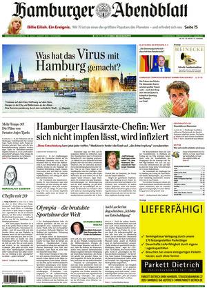Hamburger Abendblatt (31.07.2021)