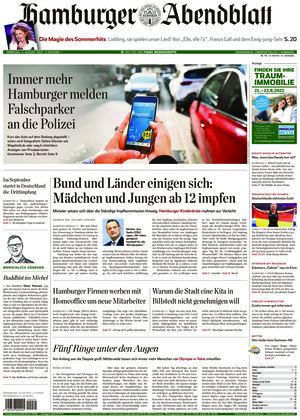 Hamburger Abendblatt (03.08.2021)