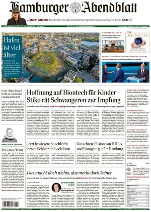 Hamburger Abendblatt (11.09.2021)