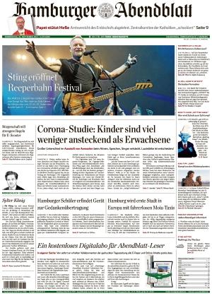 Hamburger Abendblatt (16.09.2021)