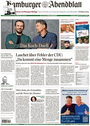 Hamburger Abendblatt (18.09.2021)